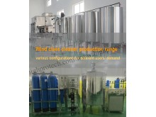 Production machine range for windshield glass cleaner