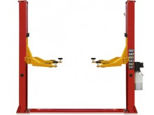 Two post lift T4 with both sides manual lock release