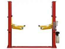 Two post lift T4E with electric lock release and control box