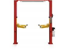Gantry two post lift S4D with single side manual lock release